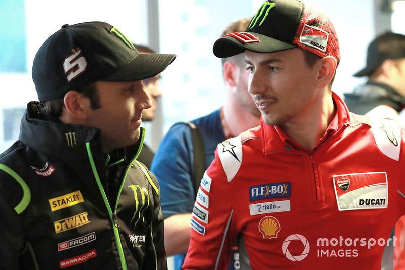 Johann Zarco, Monster Yamaha Tech 3, Jorge Lorenzo, Ducati Team