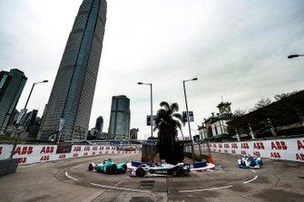 Tom Dillmann, NIO Formula E Team, NIO Sport 004 Jose Maria Lopez, Dragon Racing, Penske EV-3, Alexander Sims, BMW I Andretti Motorsports, BMW iFE.18