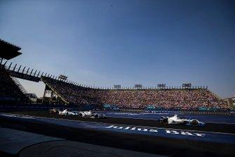 Antonio Felix da Costa, BMW I Andretti Motorsports, BMW iFE.18 Felipe Massa, Venturi Formula E, Venturi VFE05, Alexander Sims, BMW I Andretti Motorsports, BMW iFE.18