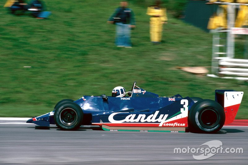Two years at Tyrrell yielded a couple of podiums and a burgeoning reputation that led to the Ligier invite.
