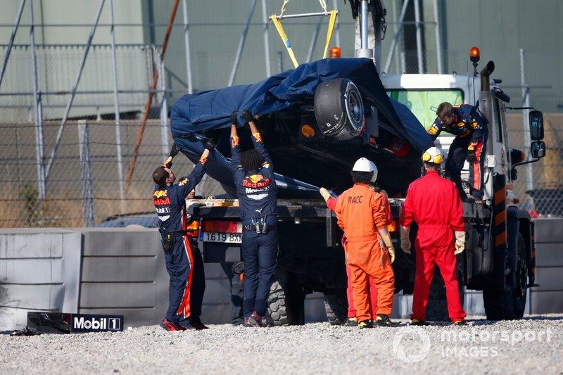 После аварии: Пьер Гасли, Red Bull Racing RB15