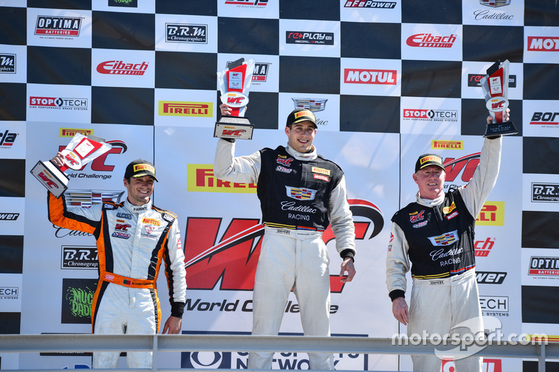 Podium GT: 1. Michael Cooper, Cadillac Racing; 2. Alvaro Parente, K-Pax Racing; 3. Johnny O'Connell, Cadillac Racing