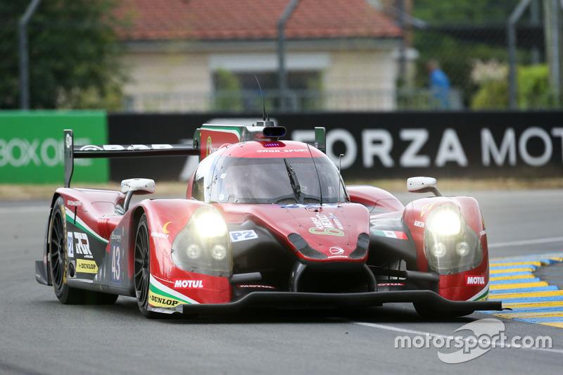 21: #43 RGR Sport by Morand Ligier JSP2 Nissan: Ricardo Gonzalez, Filipe Albuquerque, Bruno Senna