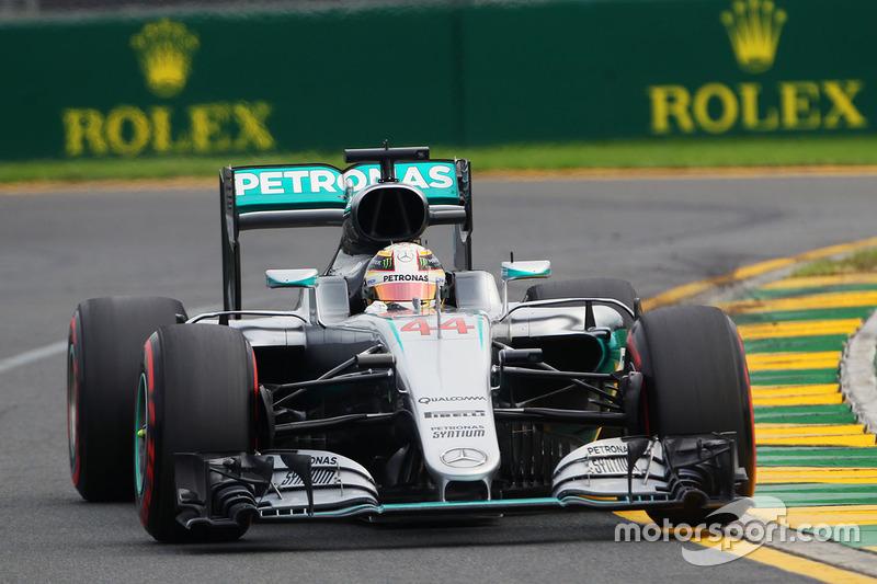 Australien, Melbourne: Lewis Hamilton (Mercedes)