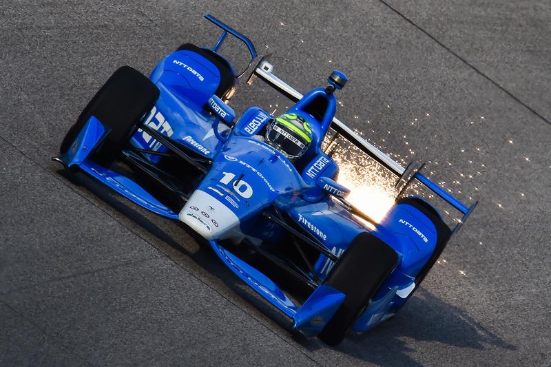 #3: Bodenfreiheit Null: Tony Kanaan, Chip Ganassi Racing,