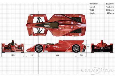 Ken Okuyama Tasarımı ve Dome Formula E şasi önerisi