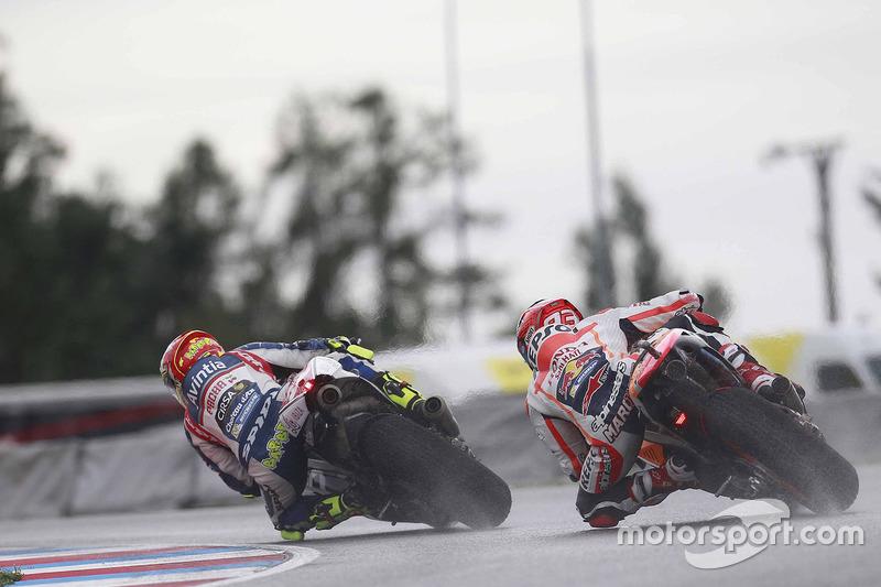 Hector Barbera, Avintia Racing,;Marc Marquez, Repsol Honda Team