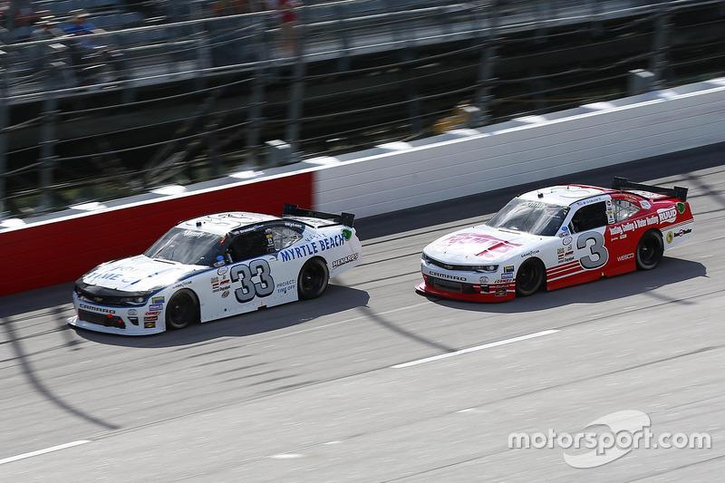 Brandon Jones, Richard Childress Racing Chevrolet, Ty Dillon, Richard Childress Racing Chevrolet