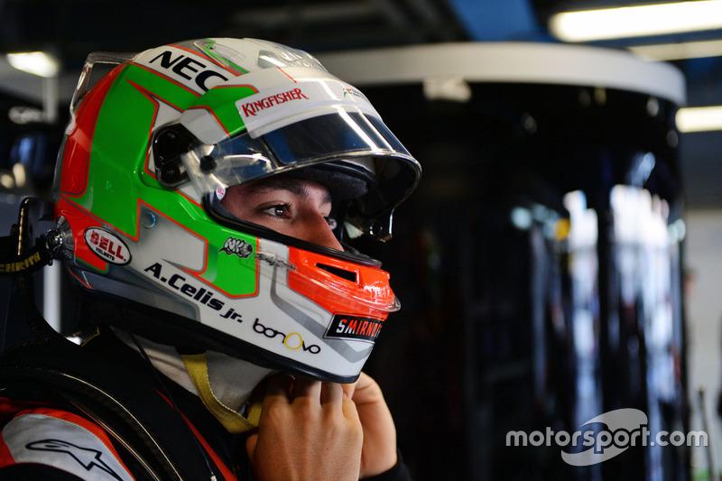 Alfonso Celis Jr., Sahara Force India F1 Development Driver