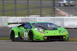 #16 GRT Grasser Racing Team Lamborghini Huracan GT3: Davide Valsecchi, Stefan Rosina