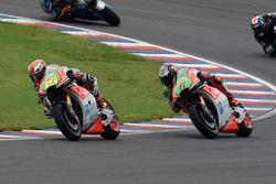 Stefan Bradl, Aprilia Racing Team Gresini; Alvaro Bautista, Aprilia Racing Team Gresini
