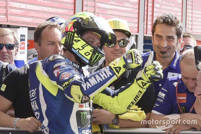 Segundo en cuali para Valentino Rossi, Yamaha Factory Racing