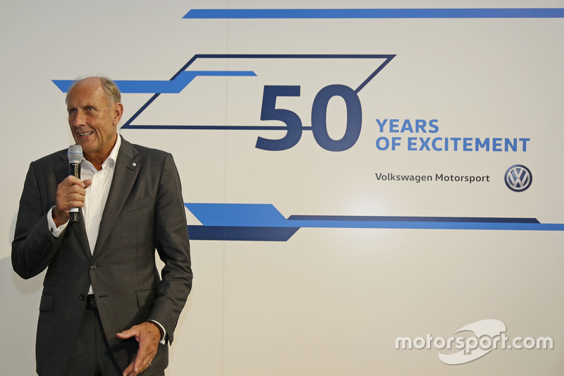 Hans-Joachim Stuck at the Opening event
