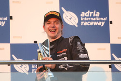 Podium: third place Dominik Fekete, Zele Racing