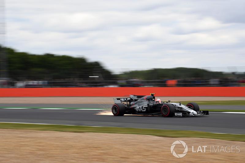 Funkenflug: Kevin Magnussen, Haas F1 Team VF-17