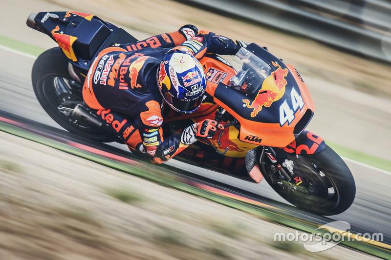 Miguel Oliveira se subió por primera vez a una MotoGP