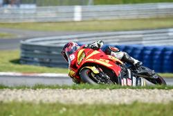 #69 Ecurie Chrono Sport, Kawasaki ZX 10R: Julien Pilot, StÈphane Pagani, Louis Rossi