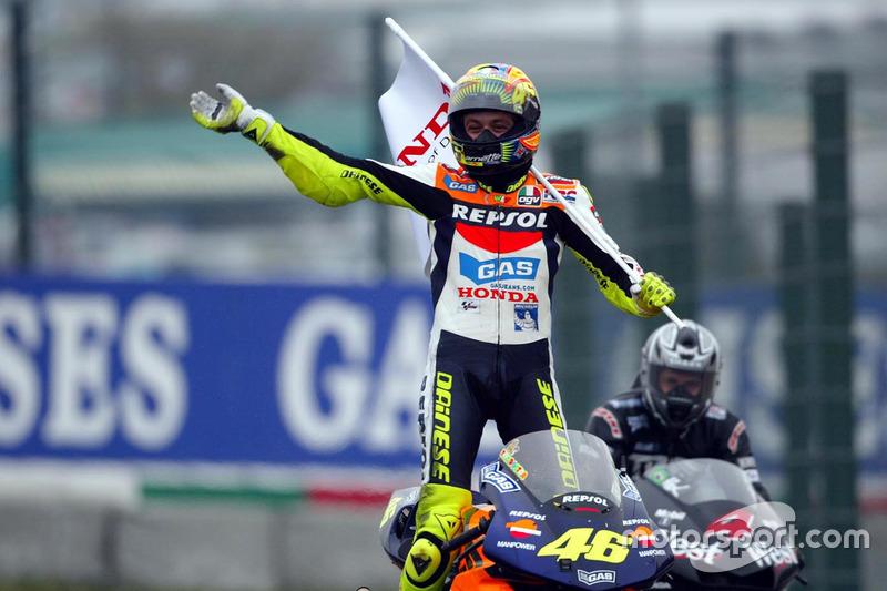 4. Валентино Россі (2002, Honda)