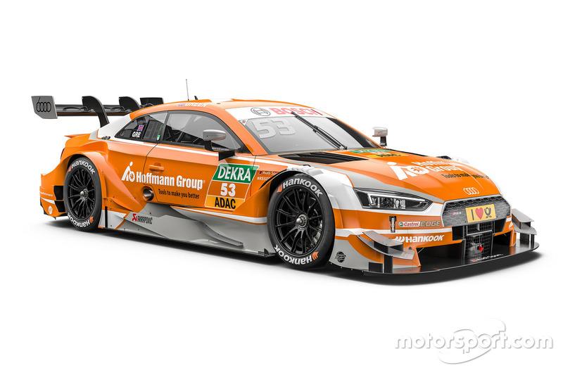 #53: Jamie Green, Audi Sport Team Rosberg, Audi RS 5 DTM