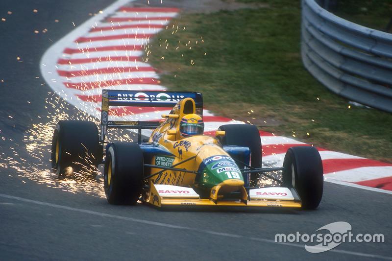 F1, Spa 1991: Roberto Moreno, Benetton B191