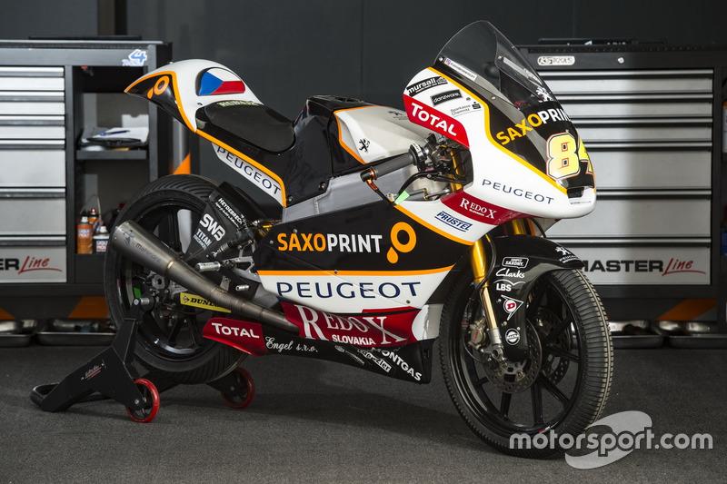 Jakub Kornfeil, Peugeot MC Saxoprint, moto