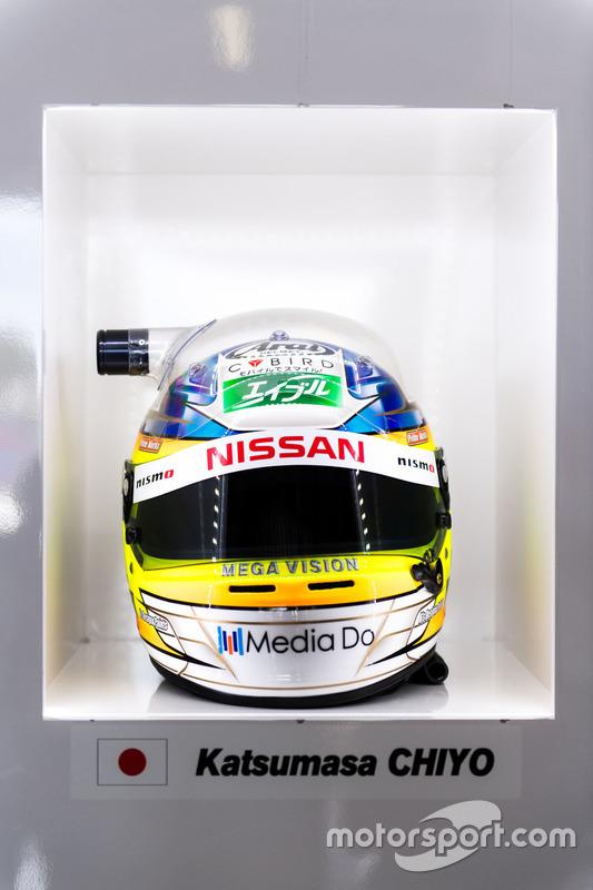 Helm von #23 Nissan Motorsport, Nissan GT-R Nismo GT3: Katsumasa Chiyo