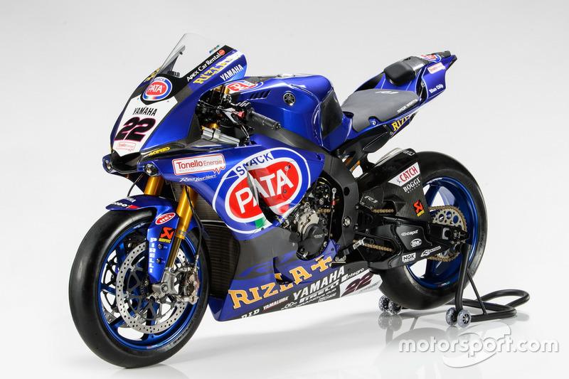 Bike von Alex Lowes, Pata Yamaha Racing