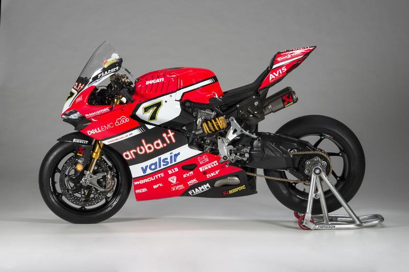 Moto de Chaz Davies, Ducati Team