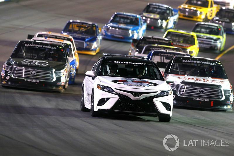 2018 Toyota Camry Pace Car Christopher Bell Kyle Busch Motorsports Myatt Snider