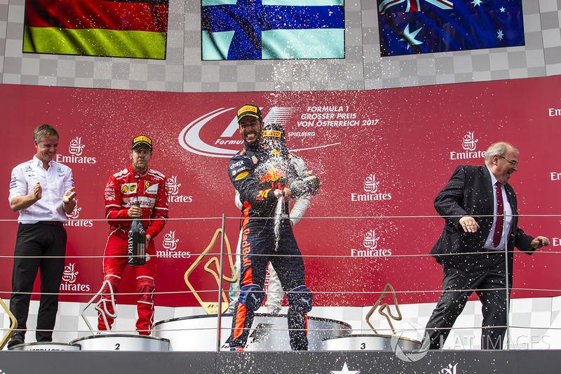 Подиум: Даниэль Риккардо, Red Bull Racing