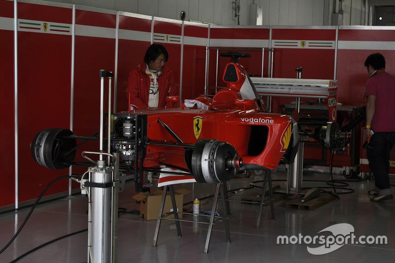 フェラーリF2003-GA(Ferrari F2003-GA)