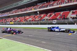Карлос Сайнс-мл., Scuderia Toro Rosso STR12, Паскаль Верляйн, Sauber C36