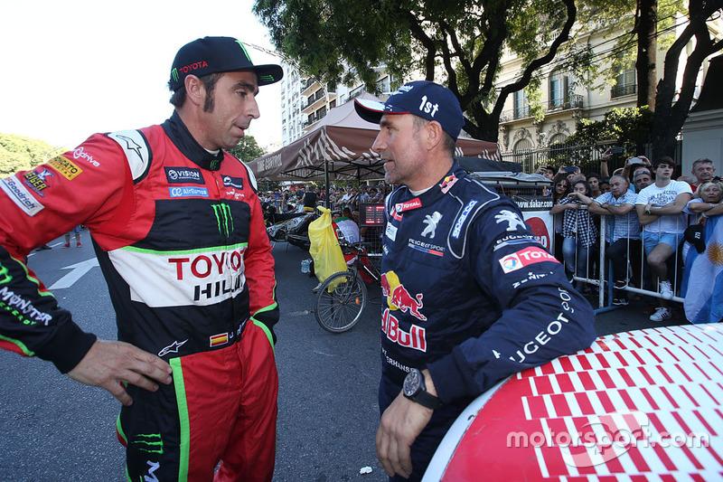Nani Roma, Overdrive Racing, Stéphane Peterhansel, Peugeot Sport
