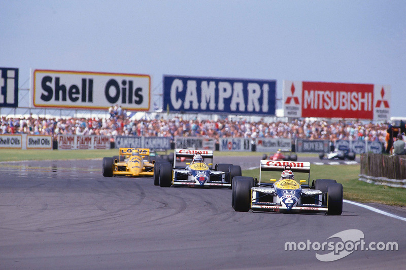 3: Nigel Mansell & Nelson Piquet (Williams)