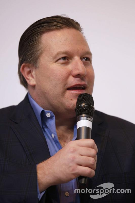 Zak Brown, Presidente de Motorsport Network