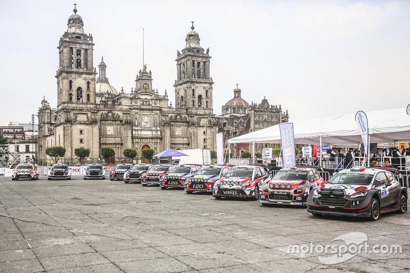 Autos WRC