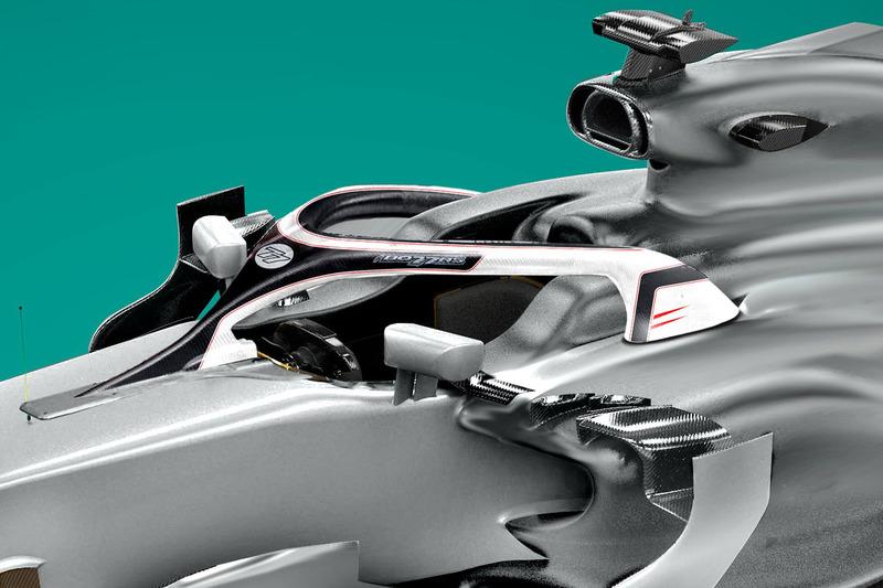 Halo для Валттери Боттаса, Mercedes AMG F1