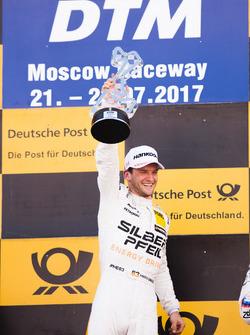 Podium: winnaar Maro Engel, Mercedes-AMG Team HWA, Mercedes-AMG C63 DTM