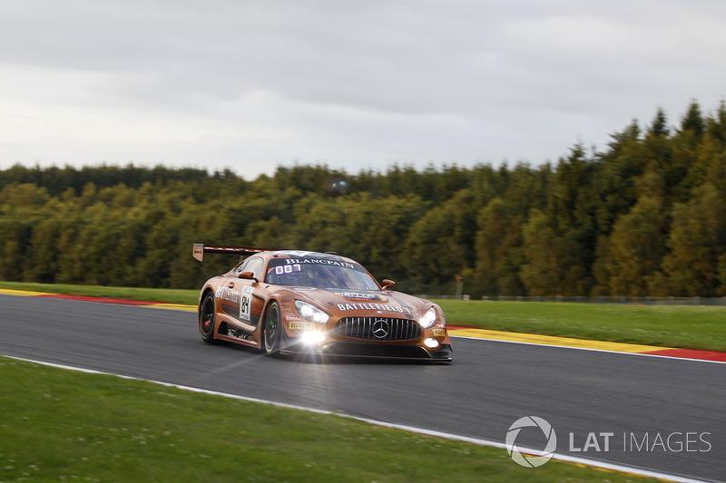 #84 Mercedes-AMG Team HTP Motorsport Mercedes-AMG GT3: Jimmy Eriksson, Maximilian Buhk, Franck Perer