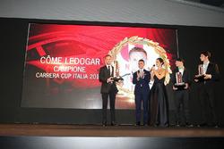 Come Ledogar, campione Carrera Cup 2016