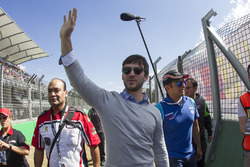 Daniel Suárez Grand Marshall de la carrera