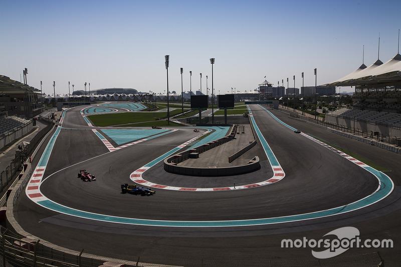 Nicholas Latifi, DAMS, Charles Leclerc, PREMA Racing