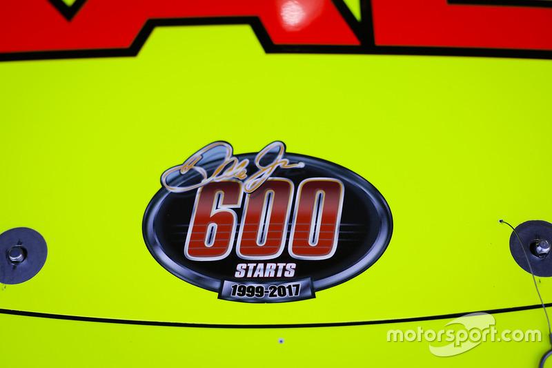 Dale Earnhardt Jr., Hendrick Motorsports Chevrolet 600 Starts Sticker