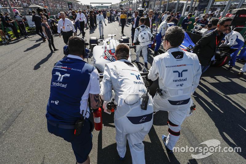 Startaufstellung: Felipe Massa, Williams FW40