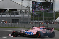 Sergio Pérez, Sahara Force India VJM10 gira