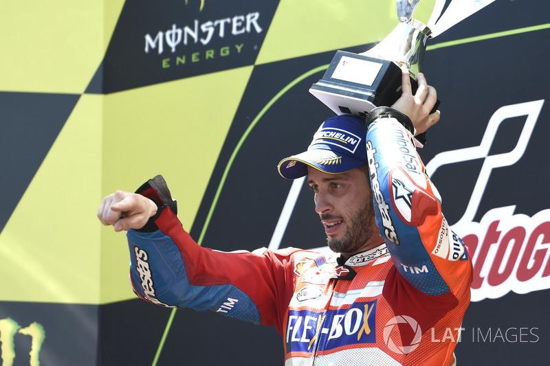 Друга поспіль перемога Довіціозо – вперше за кар'єру італійця