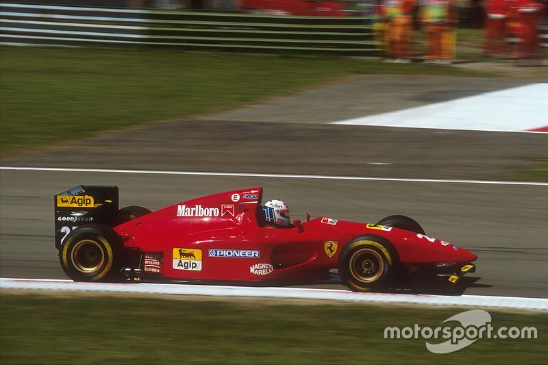 1994: Nicola Larini, Ferrari 412T1
