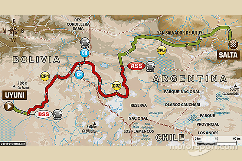 8. Etappe: Uyuni - Salta
