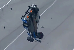 Crash: Scott Dixon, Chip Ganassi Racing, Honda (Screenshot)