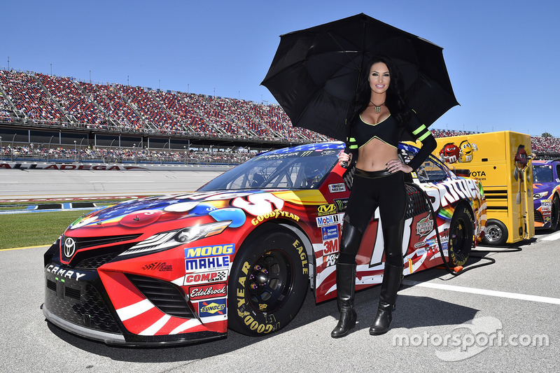 What nascar driver is dating monster energy girl